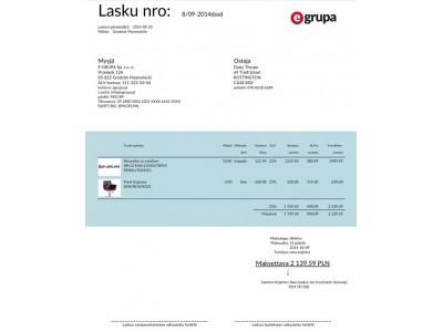 Faktura Po Fińsku Program Afakturypl